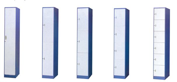 薄边储物柜(一至六门)
